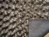 Embossed velboa fabric