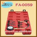 Fácil de usar carros de motor diesel de compressão tester set/automotivo reparação conjunto de ferramentas
