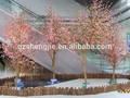 gz fábrica atacado artificial da flor de cereja de madeira da árvore decoração maravilhosa