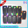 Hybrid pc silicone combo case for Alcatel 7024 Cellular accessories phone case with T stand