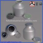 50ml aseptic aluminum bottles/canisters/cans/buket for pharmaceutical packaging