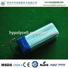3s 873080 6900mah 3.7v primary lithium batteries