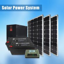 High efficiency kit solar inverter, controller, panels and batteries
