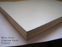 High Quality, Water Proof,E0 glue,White Paint,Double Plastic Aluminum Faced Plywood