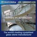 Piedra artificial circular escaleras / interior escaleras de caracol / circular escaleras