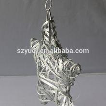 silver hotsale xmas ornament star
