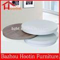 Alta qualidade de madeira MDF giratórias rodada mesa de café para sala de estar F316