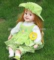 22 inteligente hermosa muñeca de juguete, el diálogo inteligente muñeca real, bebé a hablar de la muñeca