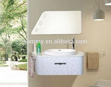 Hot Sale Waterproof Elegant White Modern Smart Design Bathroom Vanity (S-1318)