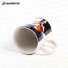 sublimation white ceramic mug with orca coatings