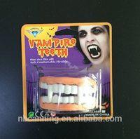 Halloween accessory/scary Halloween fake teeth/ party accessory false teeth