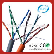 Pe aislamiento cat5e red LAN cable de comunicación de ordenador Cables