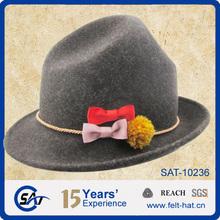 traditional bavarian german felt hat