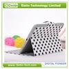 China Electronics Belt Buckle Polka Dot PU Leather Case For iPad Mini