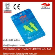 Popular custom for high quanlity silicone swim waterproof ear plugs
