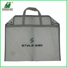 90g White Plastic Packaging Bag For Garment With Pocket