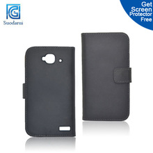 Luxury Wallet Stand PU Leather Case cover for alcatel one touch idol mini 6012 6012A 6012D factory price