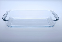 3.0L rectangular hot sale customized Walmart round pyrex glass baking dish