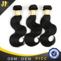 Peruvian hair 3pcs a pack 16 inch 5A body wave cheap human hair weaving