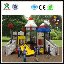 2014 Hot sale! kids play area/childrens playground/playground games monkey bars/outside playground QX-035B