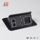 Tabletop power data cable connection box factory