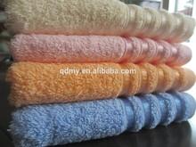 100% cotton yarn piece dyed dobby border towel