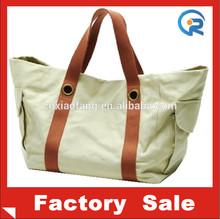 100% cotton canvas tote bags/cotton canvas bag/canvas travel bag