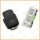 vw remote key fob shells replacements 2 button