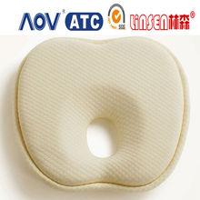 Hot sale memory foam good sleeping infant neck pillow