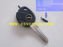 VW Brand New uncut chip immobilizer transponder ignition key 48
