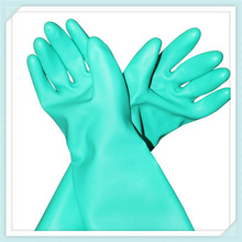 nitrile gloves/nitrile gloves safety/nitrile long cuff gloves ,European hot sell nitrile working safety gloves