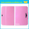card slot leather case for ipad mini,with a handstrap case for ipad mini