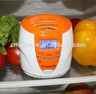 All-round Refrigerator Air Deodorizer & Sterilizer w/Active Oxygen Generator, UVC Lamp, LCD Temperature Display & Light Sensor