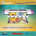 Resoultion de alta infinito/schlüsseldirektanlernungsfunktion/galaxy 1800mm ancho 1440 dpi dx5 cabezal de impresión solvente eco impresoras de inyección de tinta