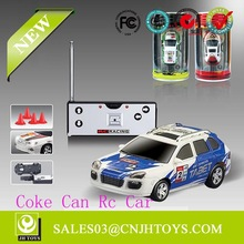 Top Sell WL Toys 1:63 Scale 4 Channel Coke Can Rc Car