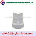 cerâmica e27 suporte da lâmpada da porcelana