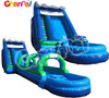 amusement event giant 18ft inflatable slide slip n dip with pool