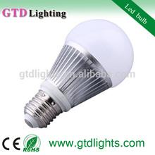2014 new 7w 560lm hong kong 7w led bulb