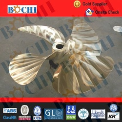 High speed fixed pitch 4 blade yacht propeller for sale