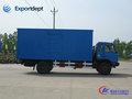Dongfeng 8 toneladas pickup van de carga do caminhão para a venda, chinês 4x2 van caminhão fabricante