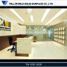 Modern Bank Financial Department Reception Desk For Sale