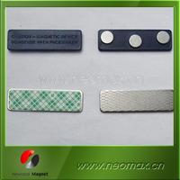 plastic pin badge with adhesive