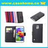 hot sell cell phone leather case for samsung galaxy s5