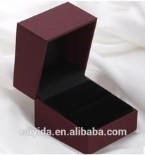 mini colorful jewelry box with black foam