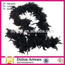 2014 Wholesale Black Feather Boas