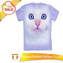 3d t-shirt for women 3d animal t shirts 3d cats tshirt