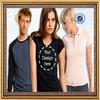 2014 new fashion unisex tshirt printing manufacturer