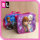 2014 Europe and America Hot Selling Frozen Backpack and Lunch Frozen Elsa Bag