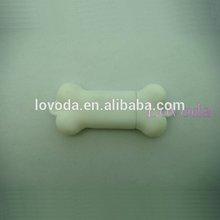 wedding favor bone shape usb flash drive usb gift set pendrive usb 2.0 LFN-210