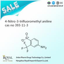 4-Nitro-3-trifluoromethyl aniline cas no 393-11-3